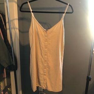 Tan dress from Forever21